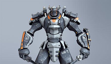 Game-character-modler